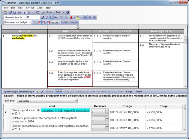 LogFramer Screenshot