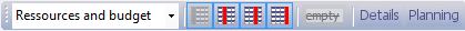 Lay-out Toolbar
